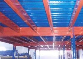 内蒙古仓库钢结构平台